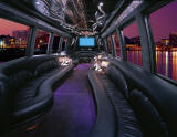 Krystal Limo Bus Interior